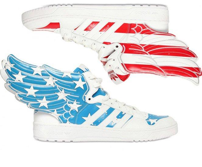 Novos tênis da Adidas inspirados na forca aérea dos EUA