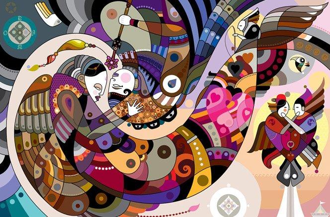 A arte surrealista do brasileiro Fernando Chamarelli