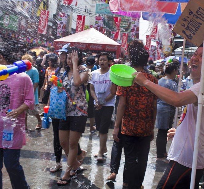 Songkran – uma comemoração de reveillon diferente
