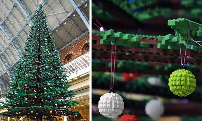 Árvore de Natal de LEGO com 10 metros de altura