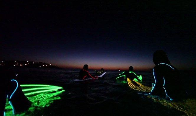 Neon Night Surfing