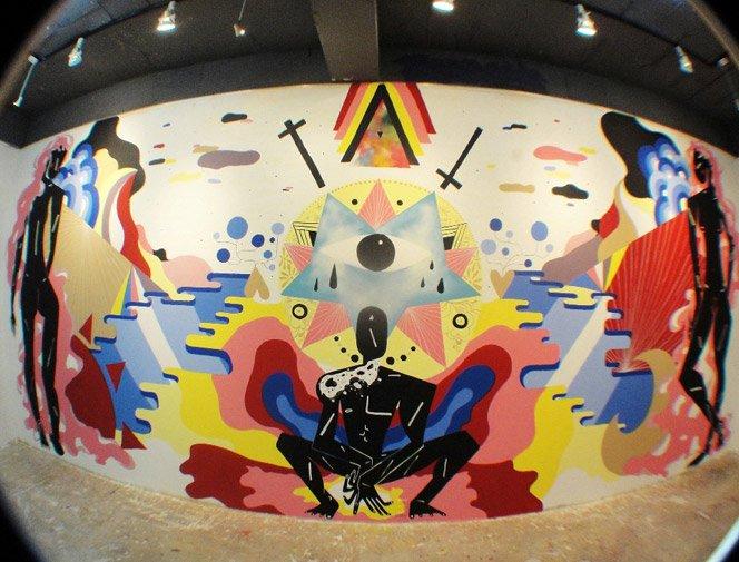 A arte de Zéh Palito na Coréia