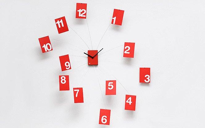 Relógios descolados para sua parede