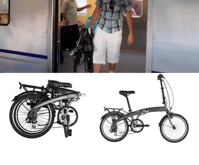 Bike dobrável Video Review Caloi Urbe