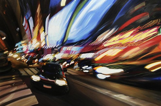 A arte em alta velocidade e intoxicada de Alexandra Pacula