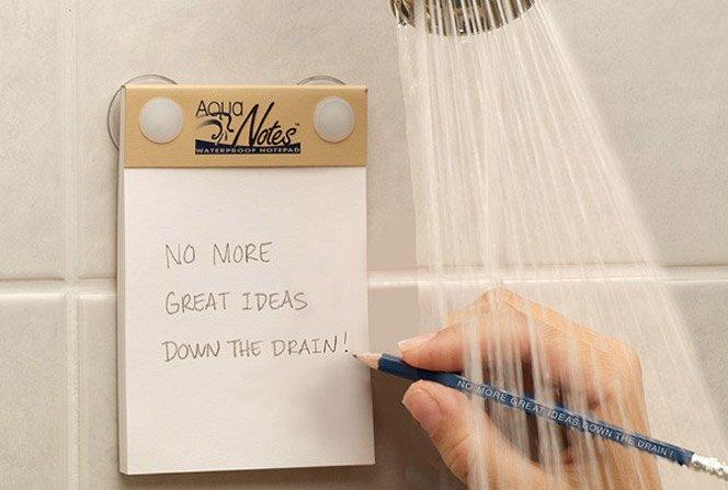 Não deixe suas ideias irem por água abaixo