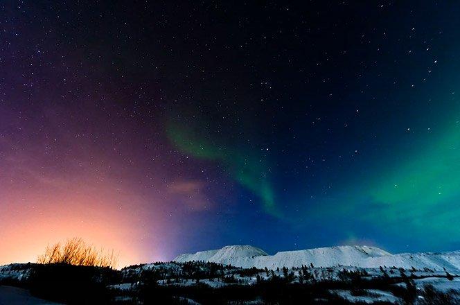 Show de cores e magia com Aurora boreal na Rússia