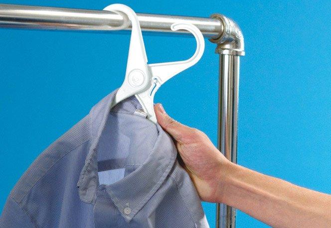 A forma mais prática de pendurar as suas roupas