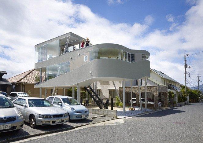 A casa mais estilosa do bairro