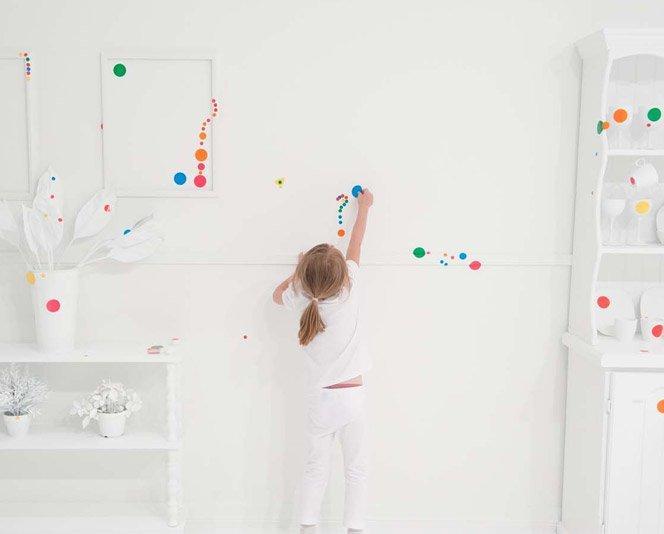 O que crianças são capazes de fazer num quarto branco