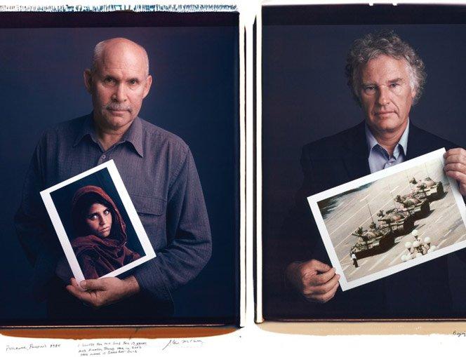 Fotos famosas ao lado de seus fotógrafos