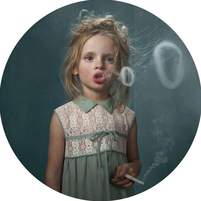 Crianças fumantes
