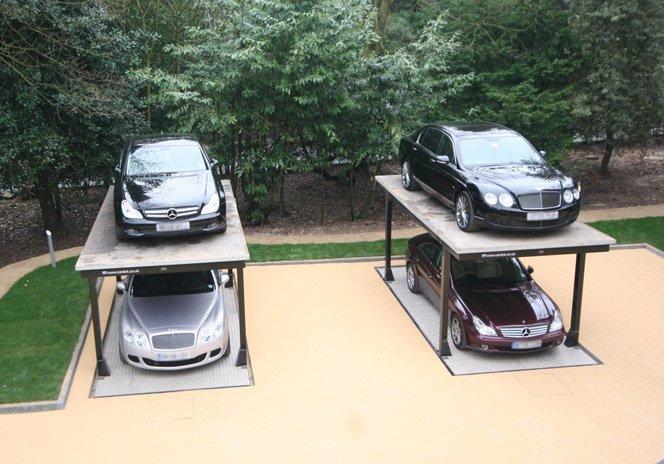 A garagem mais inteligente que você já viu