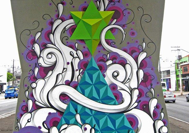 Street art sensacional do brasileiro Highraff