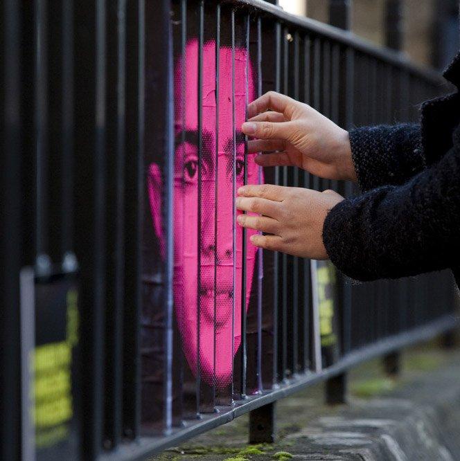 Street art exibe o invisível