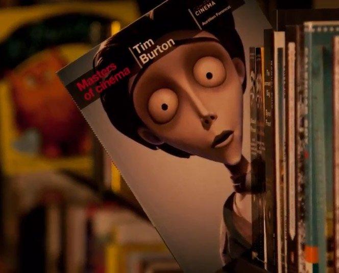 "O incrível stop motion ""The Joy of Books"""