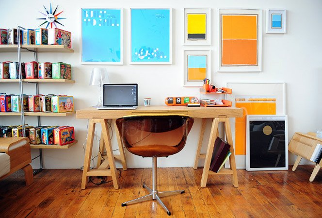 Projeto mostra as mesas de criativos ao redor do mundo