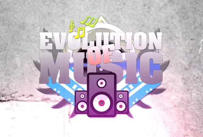 A evolução da música em 3 minutos