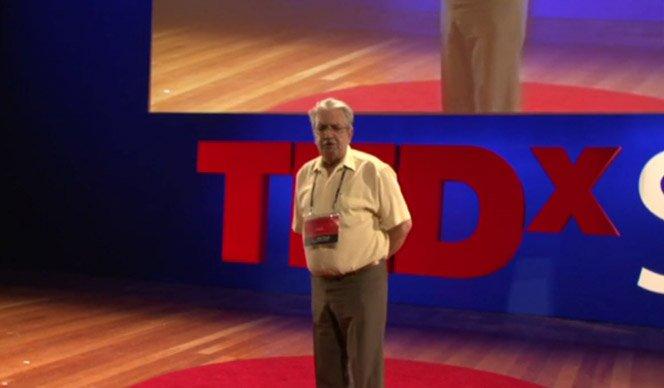 Brasileiro fala no TED sobre amor com conteúdo sensacional