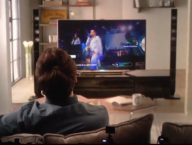 Samsung apresenta a TV que conversa com você