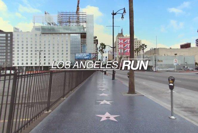 Correndo em qualquer lugar do mundo