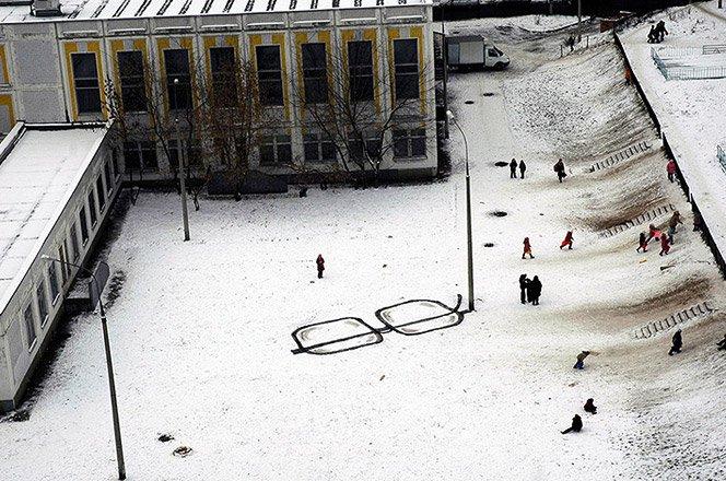 O Banksy que vive na Rússia