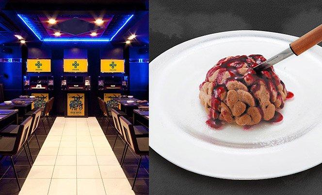 Restaurante para fanáticos por games