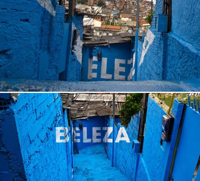 Arte inovadora leva para as favelas orgulho, firmeza, doçura e beleza