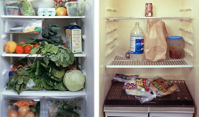 Projeto fotográfico mostra o que tem dentro das geladeiras dos americanos