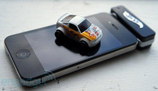 Controle o novo carrinho da Hotwheels com o seu iPhone