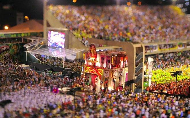 Carnaval em miniatura