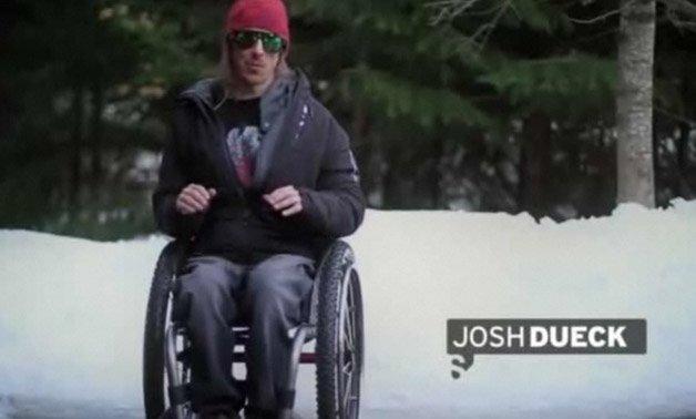 Atleta refaz o salto que o deixou paraplégico depois de 8 anos