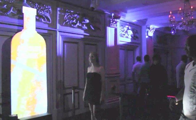 Absolut Vodka usa Kinect em ação interativa nas baladas