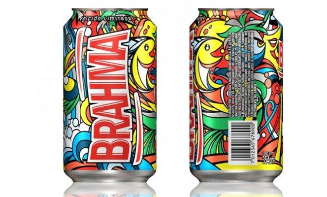 Brahma surpreende com lata colorida na Argentina