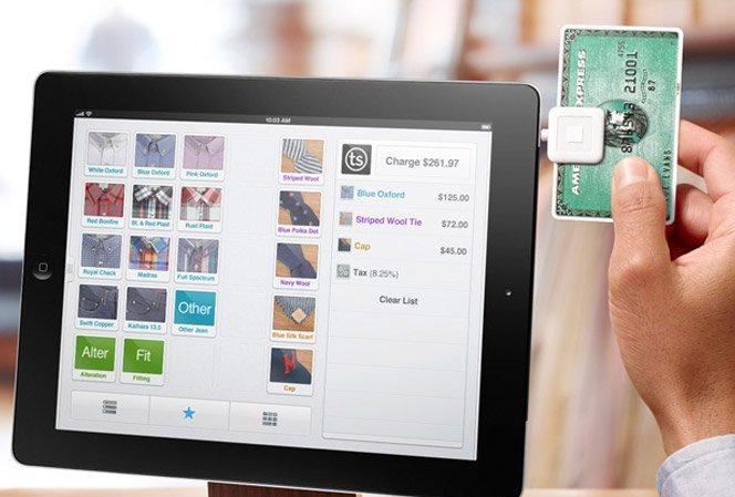 Celulares e tablets no lugar de caixas registradoras