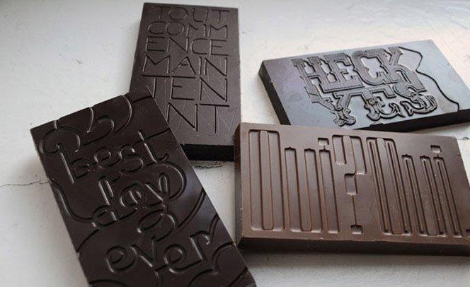 Chocolate para designers