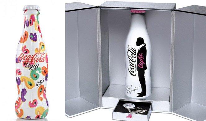 Estilistas de moda e artistas criam novas garrafas de Coca-Cola
