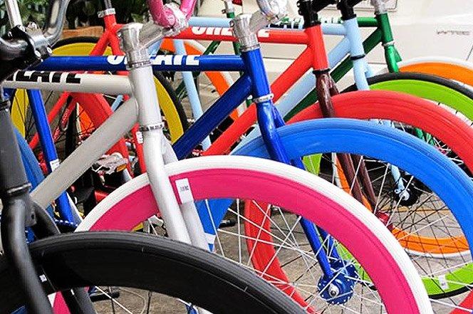 Bikes vibrantes