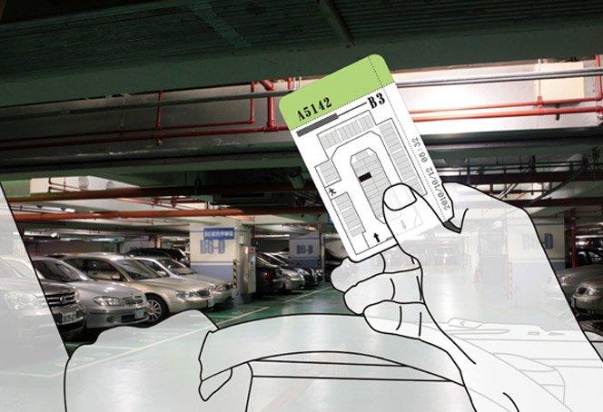 Inovação para não gastarmos tempo procurando vaga em estacionamentos