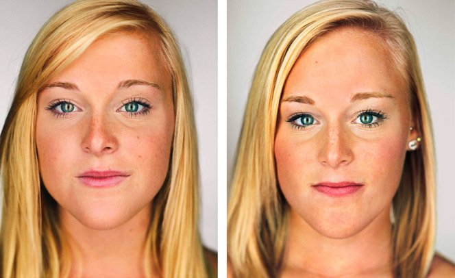 Série de fotos mostra as diferenças dos gêmeos idênticos