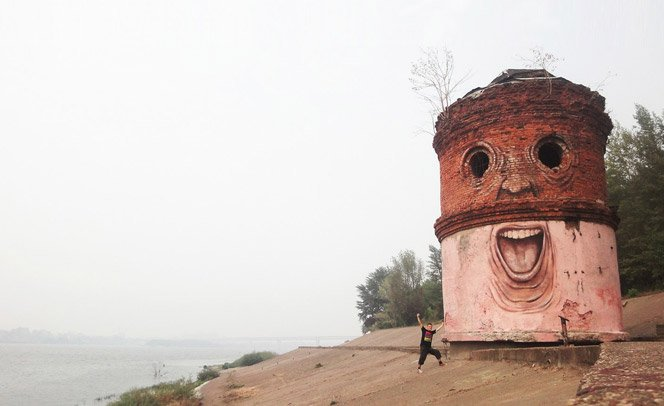 Dando emoções a lugares abandonados – Conheça a arte de Normez