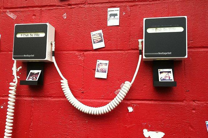 A máquina que imprime fotos direto do Instagram