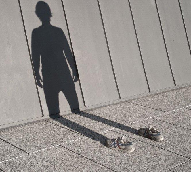 Fotos da sombra do homem invisível