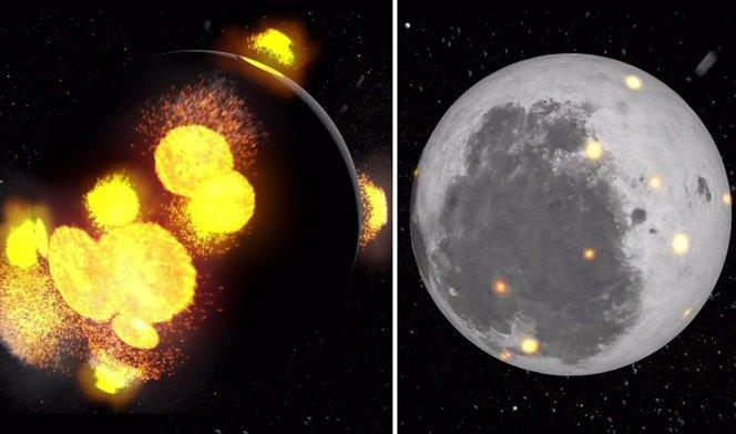 NASA divulga vídeo mostrando como a Lua é o nosso escudo contra asteróides