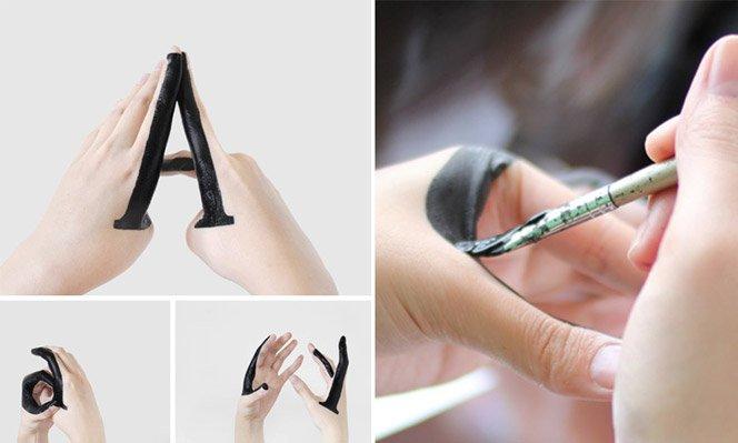 Tipografia feita na mão, literalmente