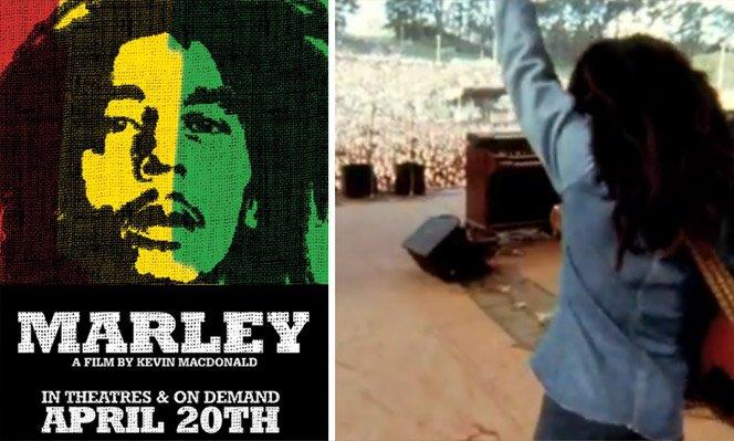 Novo documentário sobre a vida de Bob Marley com imagens e vídeos inéditos
