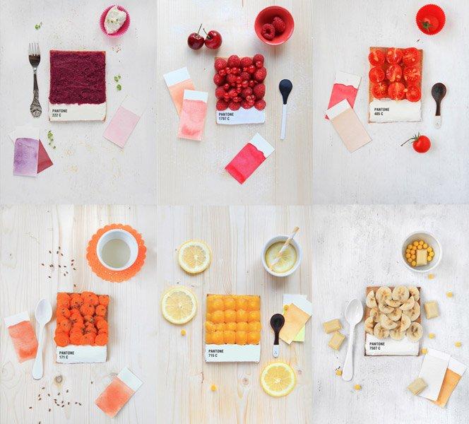 Comida pantone – Se alimente com a sua cor favorita