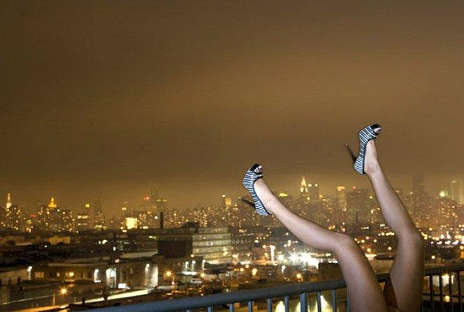 Ensaio fotográfico mostra apenas as pernas das modelos