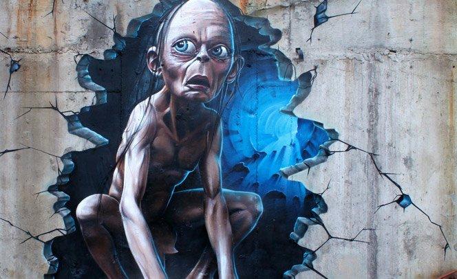 Graffiti + Entretenimento = A arte de SmugOne