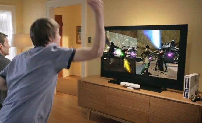 Agora você pode ser um Jedi com o novo jogo Star Wars para Kinect